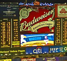 Scoreboard - Shea Stadium by michael6076