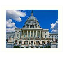 United States Capitol - Washington, DC Art Print