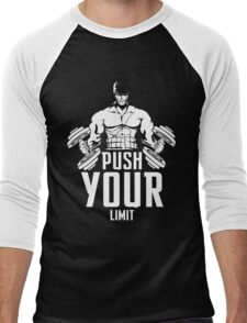 Roronoa Zoro Train Hard And Push Your Limit  Men's Baseball ¾ T-Shirt