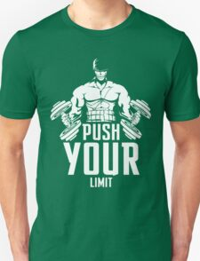 Train Hard And Push Your Limit  T-Shirt