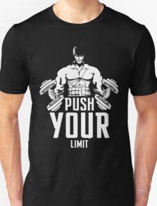 Roronoa Zoro Train Hard And Push Your Limit  Unisex T-Shirt
