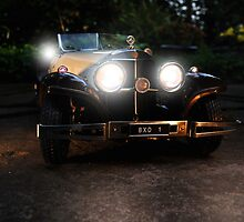 Finished Model  Mercedes Benz 540K by pdsfotoart