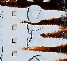 Metal in Abstract  by Alixzandra
