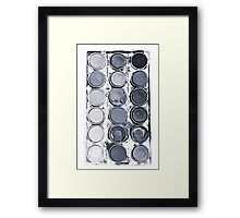 When Skies Are Grey Framed Print