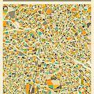BERLIN MAP by JazzberryBlue