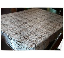 Crochet Tablecloth, Poster