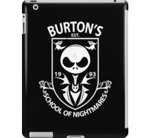 Burton's School of Nightmares iPad Case/Skin