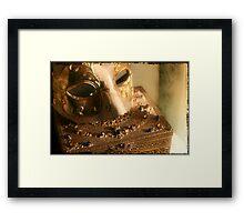 Gilded Daydreams Framed Print