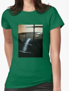 Round and Round Womens Fitted T-Shirt