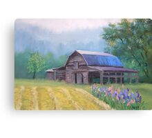 Mountain Barn Canvas Print