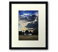 His Touch Framed Print