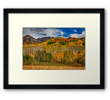Colorado Kebler Pass Fall Beauty Framed Print