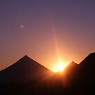 tented sunset by millymuso