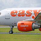 Airbus 319-111 easyJet by Mark Kopczewski