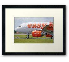 Airbus 319-111 easyJet Framed Print