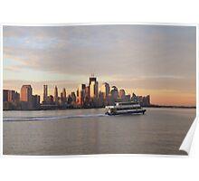 NY Waterway Poster