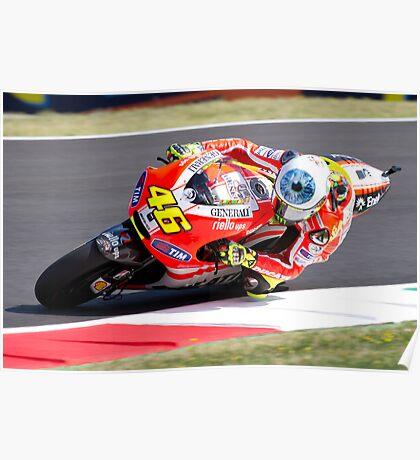 Valentino Rossi 46 Poster