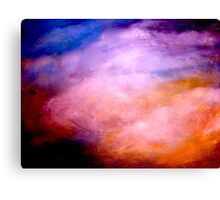 The Orderly Clouds of the Trades... Canvas Print