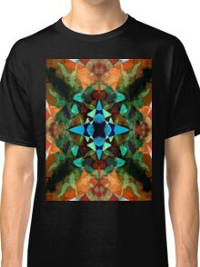 Abstract Inkblot Pattern Classic T-Shirt