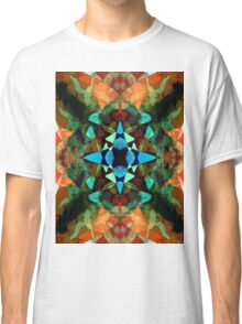 Abstract Inkblot Pattern Classic T-Shirt