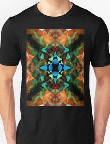 Abstract Inkblot Pattern Unisex T-Shirt