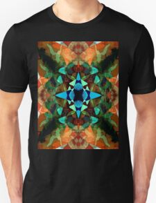 Abstract Inkblot Pattern T-Shirt