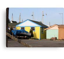 colorful little house Canvas Print