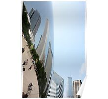 Distort - Chicago's Cloud Gate Poster