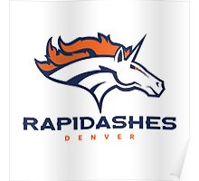 Denver Rapidashes  Poster