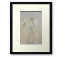 A Glimpse of Roses Framed Print