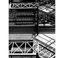 fire escape, Toronto, Ontario Photographic Print