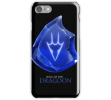 Soul of the Dragoon -black iPhone Case/Skin
