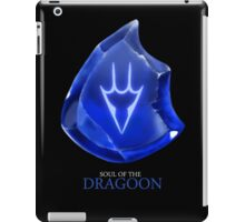 Soul of the Dragoon -black iPad Case/Skin