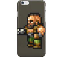 Barret Wallace sprite - FFRK - Final Fantasy VII (FF7) iPhone Case/Skin