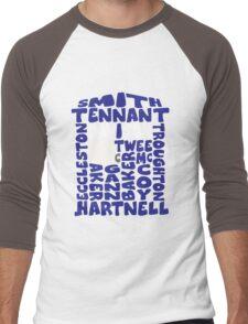 The Blue Box Eleven Men's Baseball ¾ T-Shirt