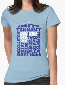 The Blue Box Eleven Womens Fitted T-Shirt