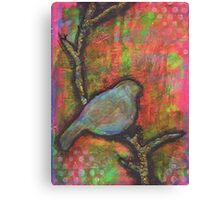 Bird In Tree Canvas Print