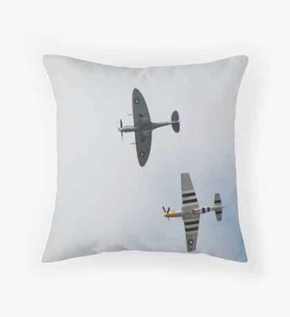 Close Company Throw Pillow