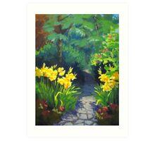Discovery Garden Art Print