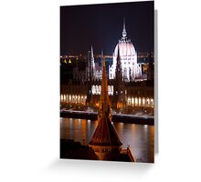 Budapest, City of Spires (viewed 263 times) Greeting Card
