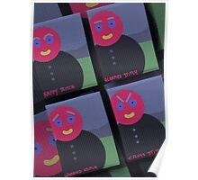 Mr Stitch's 4 Moods Poster