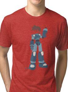 Mega Man (Legendary Mode) Tri-blend T-Shirt