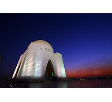 Tomb of Quaid-e-Azam Mohammed Ali Jinnah  Photographic Print