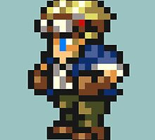 Cid Highwind sprite - FFRK - Final Fantasy VII (FF7) by Deezer509