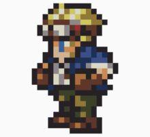 Cid Highwind sprite - FFRK - Final Fantasy VII (FF7) Kids Clothes