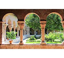 Cloisters at Hudson Photographic Print
