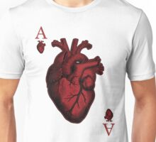 Ace of Hearts Unisex T-Shirt