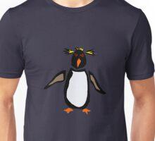Cool Funny Rockhopper Penguin Original Art Unisex T-Shirt