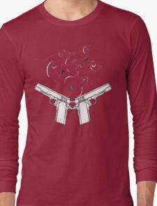 double gun negative T-Shirt