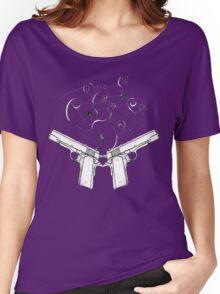 double gun negative Women's Relaxed Fit T-Shirt